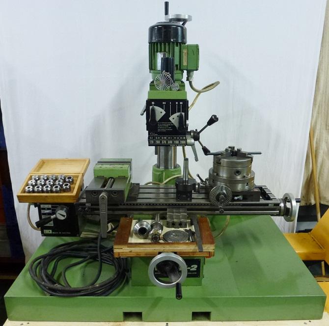 EMCO FB2 MILLER « Pennyfarthing Tools Ltd