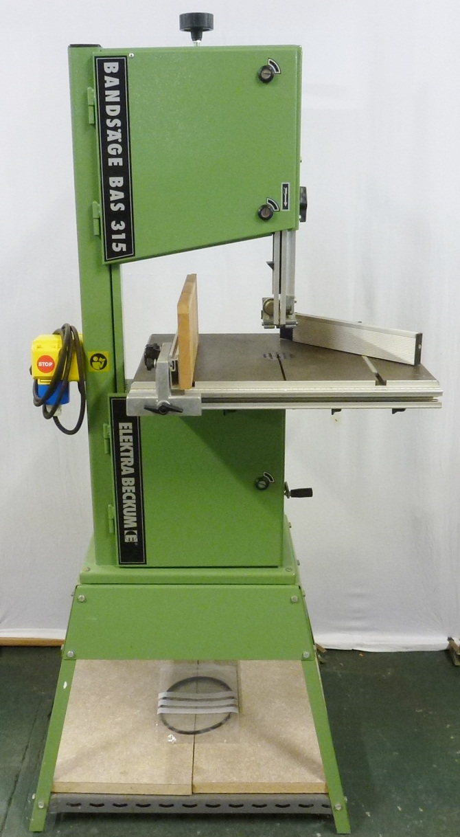 ELEKTRA BECKUM BAND SAW « Pennyfarthing Tools Ltd