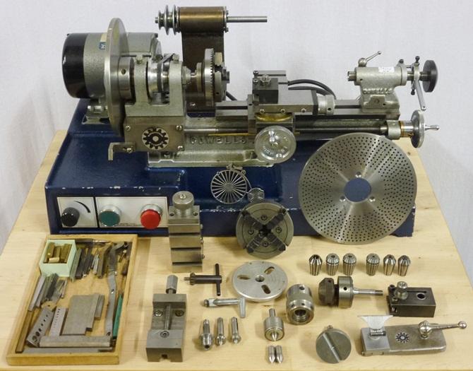 Cowells Cw Clock Amp Watch Lathe 171 Pennyfarthing Tools Ltd