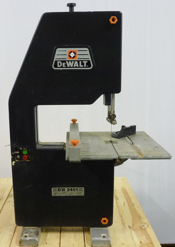 DEWALT 3401 BENCH BANDSAW « Pennyfarthing Tools Ltd