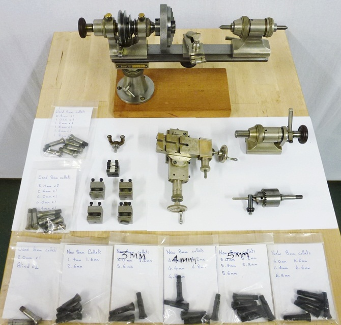 IME 8 MM PRECISION WATCH LATHE « Pennyfarthing Tools Ltd
