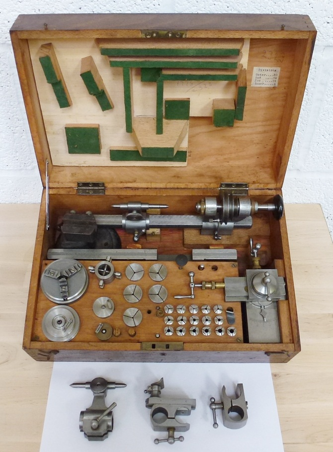 BTM 8MM WATCH MAKERS LATHE