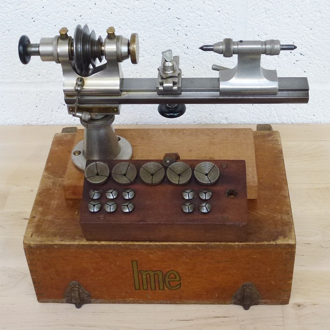 IME WATCHMAKERS 8 MM LATHE « Pennyfarthing Tools Ltd