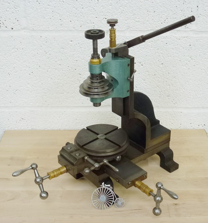 WOLF JAHN 5 AXIS PRECISION WATCHMAKERS MILL