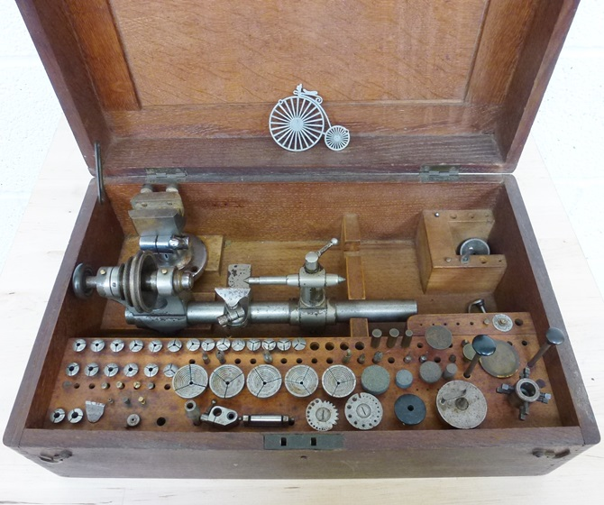 LORCH 6 MM WATCHMAKERS LATHE