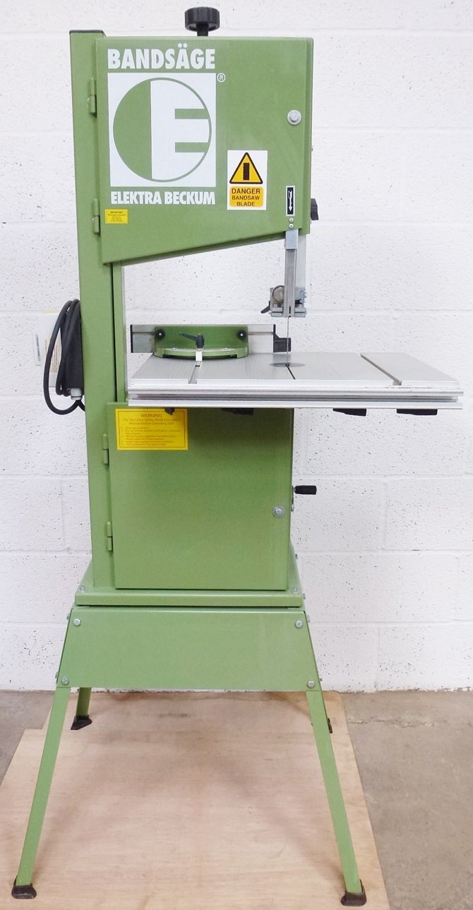 ELECTRO BECKUM BAS 315/4 WN55 BANDSAW « Pennyfarthing Tools Ltd