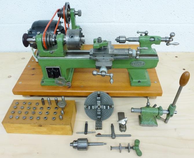 LORCH LLV INSTRUMENT LATHE « Pennyfarthing Tools Ltd