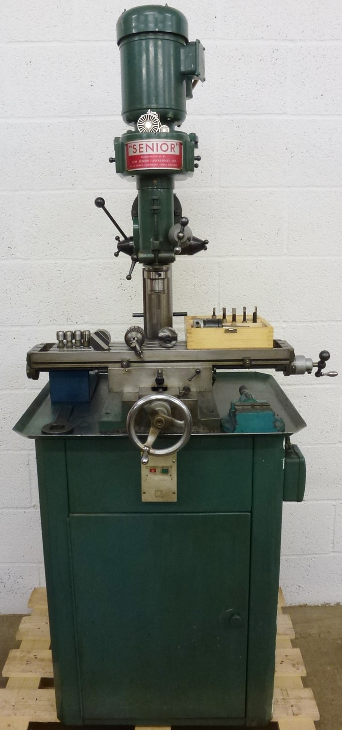 Tom Senior Type E Vertical Milling Machine