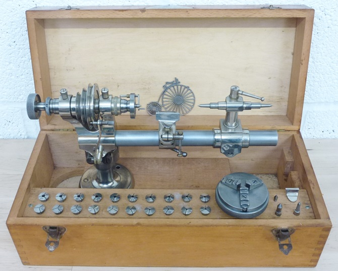 STAR 8 MM WATCH MAKERS LATHE