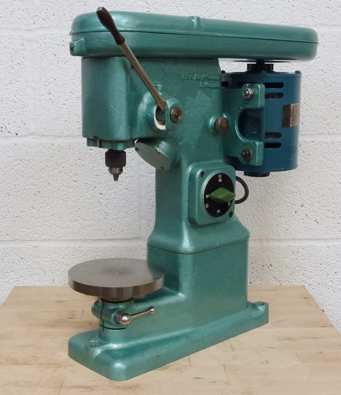 JONES & SHIPMAN PRECISION BENCH DRILL « Pennyfarthing Tools Ltd