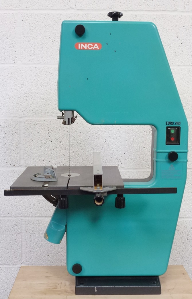 INCA EURO 260 BENCH BAND SAW « Pennyfarthing Tools Ltd