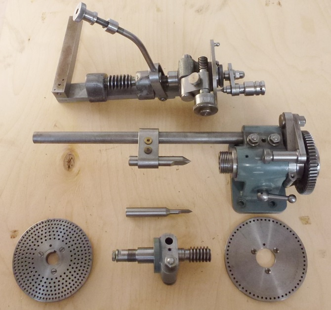 VERSATILE DIVIDING HEAD BY GEORGE H. THOMAS « Pennyfarthing Tools Ltd