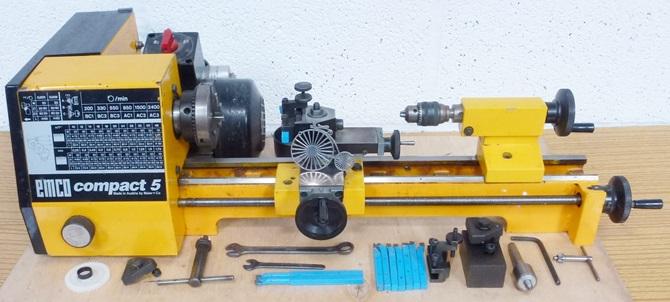 EMCO COMPACT 5 LATHE « Pennyfarthing Tools Ltd