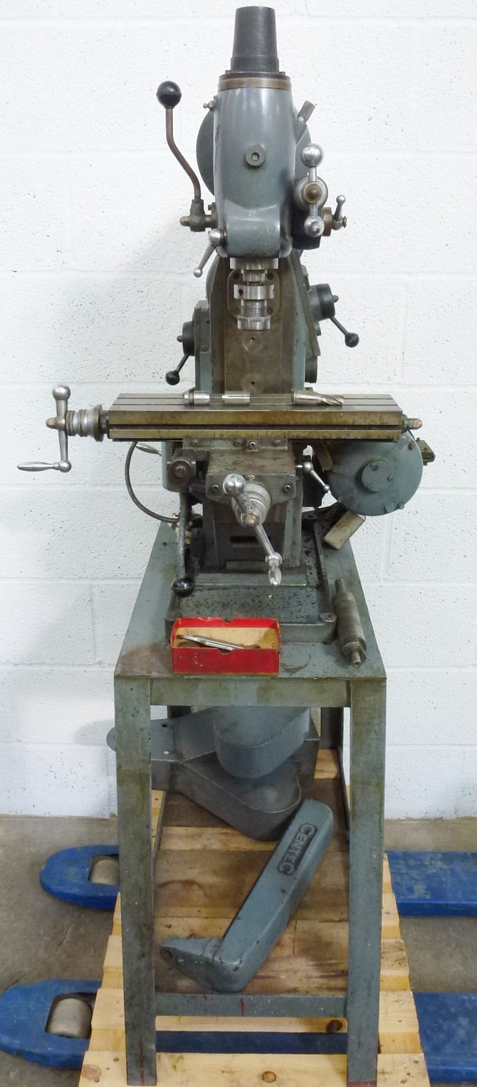 CENTEC 2A HORIZONTAL VERTICAL MILL « Pennyfarthing Tools Ltd