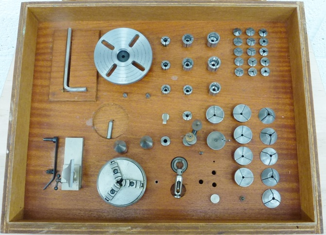 Boley & Leinen 8MM watch makers and instrument lathe 002