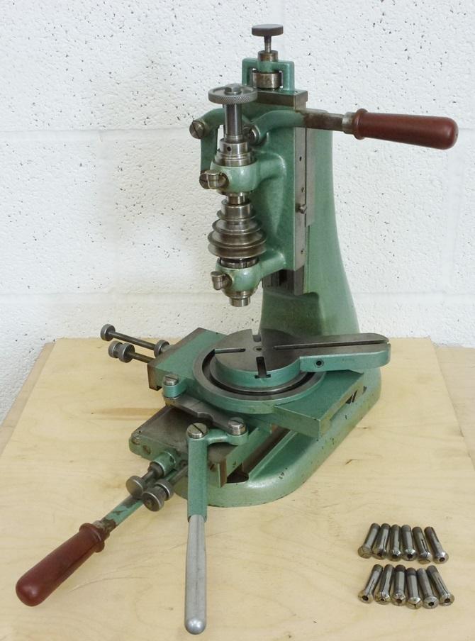 HAUSER VERTICAL MILLER « Pennyfarthing Tools Ltd