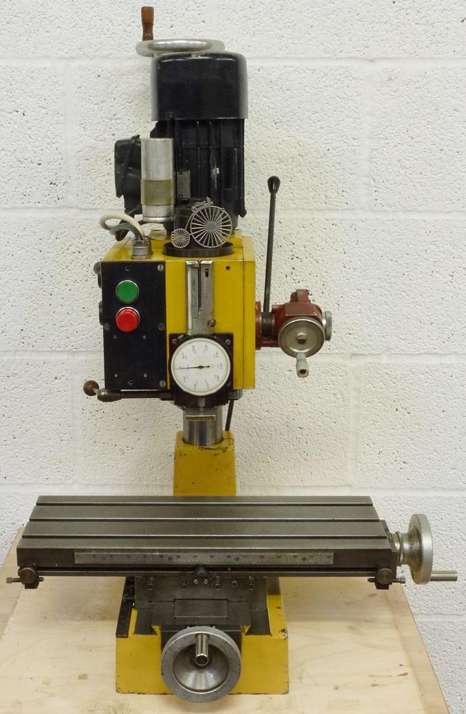 HOBBYMAT BFE 65 VERTICAL MILLER « Pennyfarthing Tools Ltd