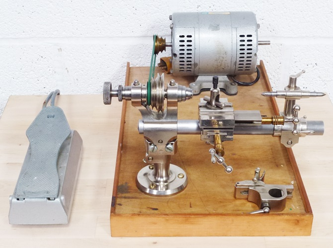 SWISS STAR 8 mm WATCHMAKERS LATHE « Pennyfarthing Tools Ltd
