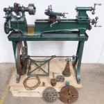 IXL SCREW CUTTING TREADLE LATHE