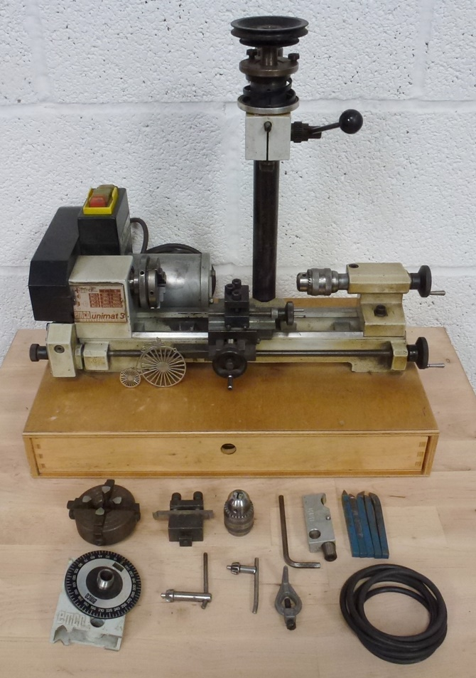 EMCO UNIMAT 3 « Pennyfarthing Tools Ltd